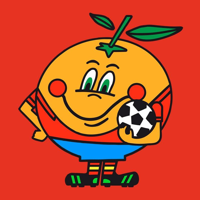 Naranjito, ese icono ochentero que recuerda a Valencia