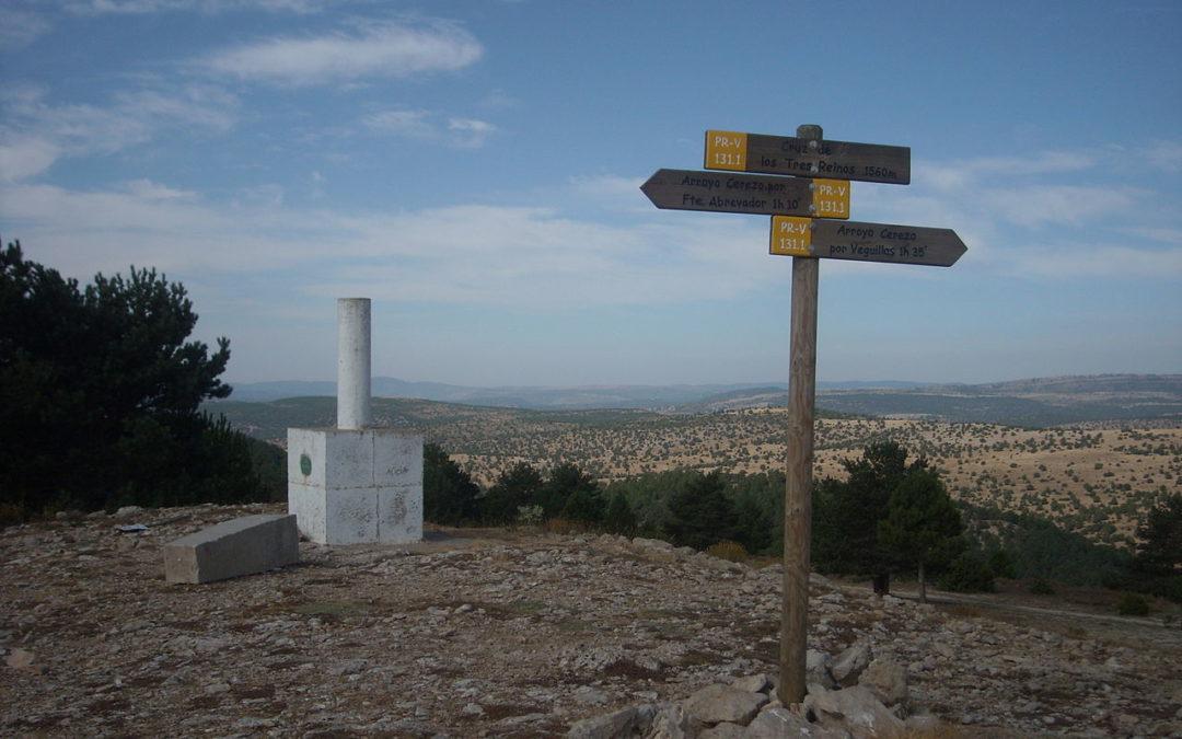 La ruta de La Cruz de los Tres Reinos