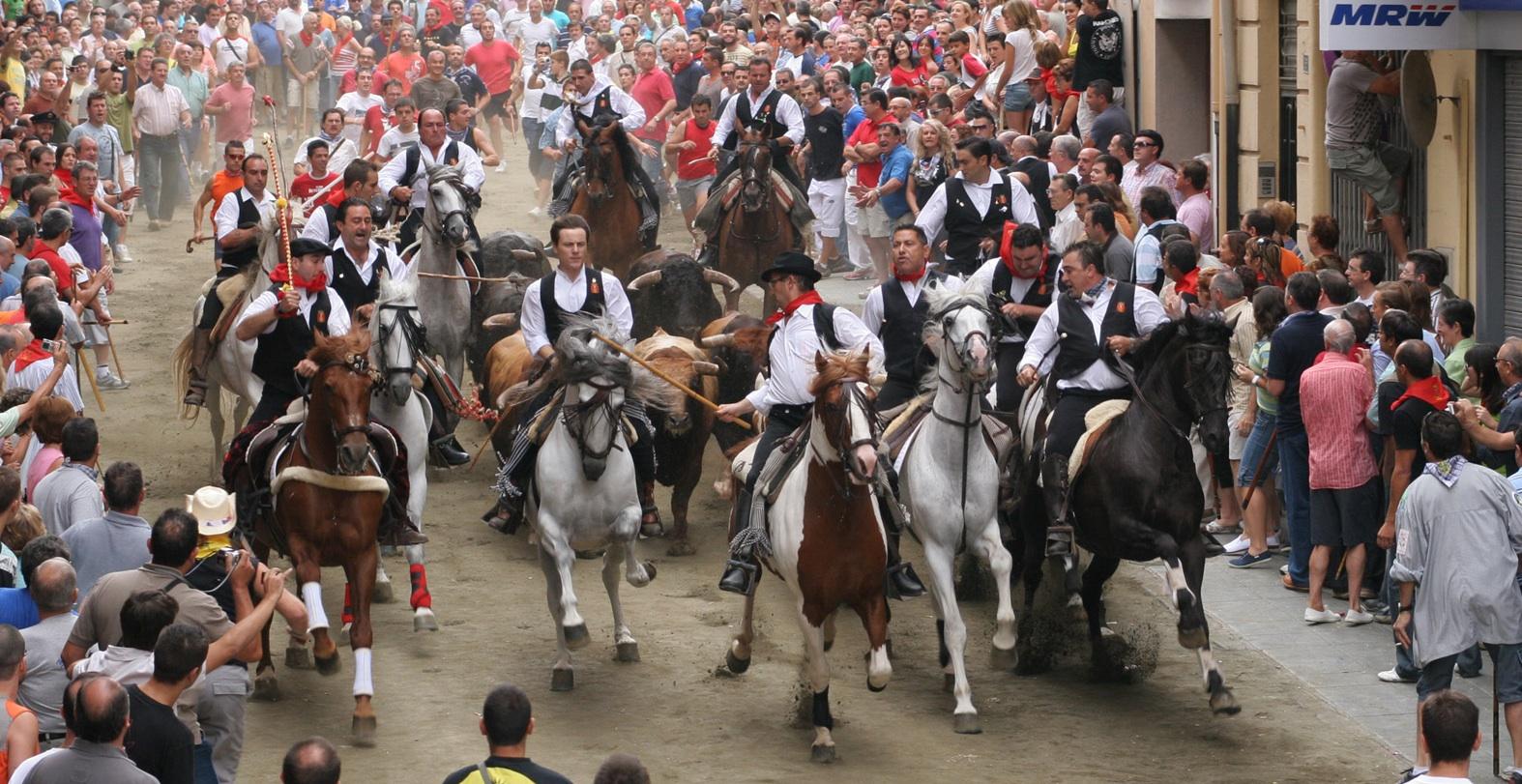 La Entrada de Toros y Caballos de Segorbe, Fiesta de Interés Turístico Internacional
