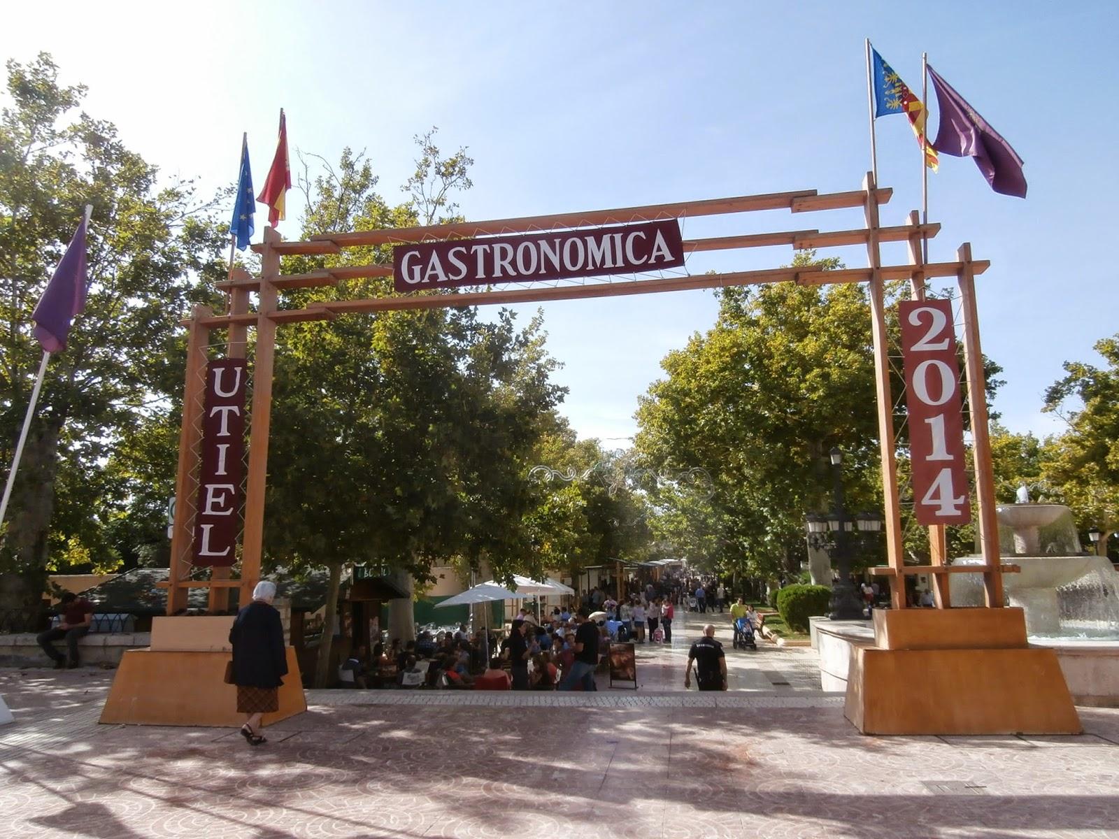Programación Feria Utiel Gastronómica 2015 (Del 16 al 18 de octubre)
