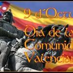 Programación 9 de Octubre y días previos: Día de la Comunidad Valenciana
