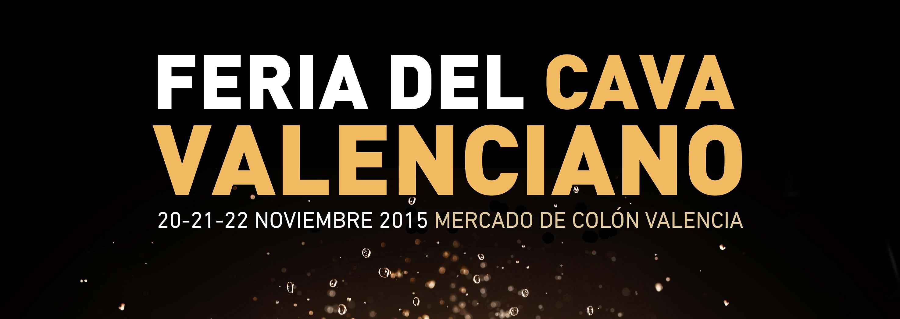 III Feria del Cava Valenciano: Del 20 al 22 de noviembre en Mercado de Colón