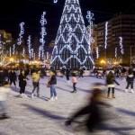 Pistas de hielo en Valencia hasta el 10 de enero