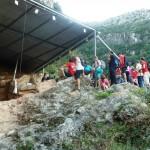 Visitas guiadas y talleres didácticos al yacimiento de la Cova del Bolomor