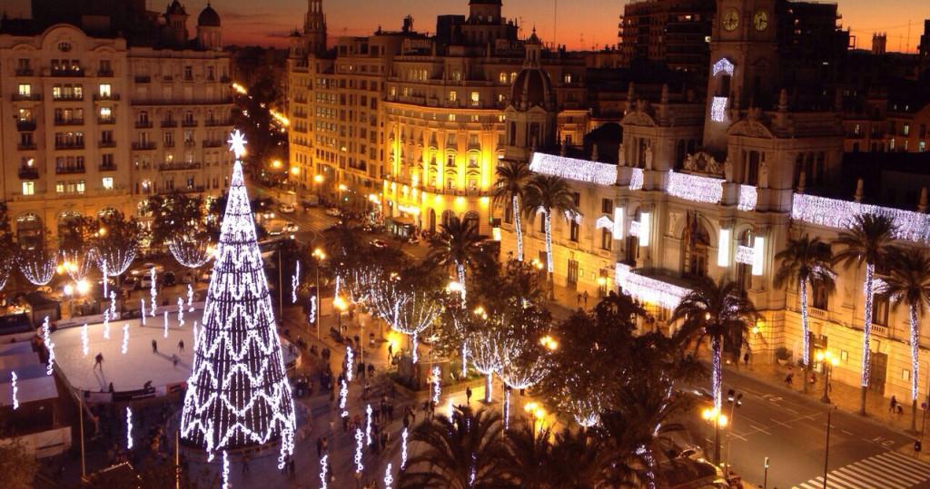 Todos los detalles de la Nochevieja 2015 en el Ayuntamiento de Valencia