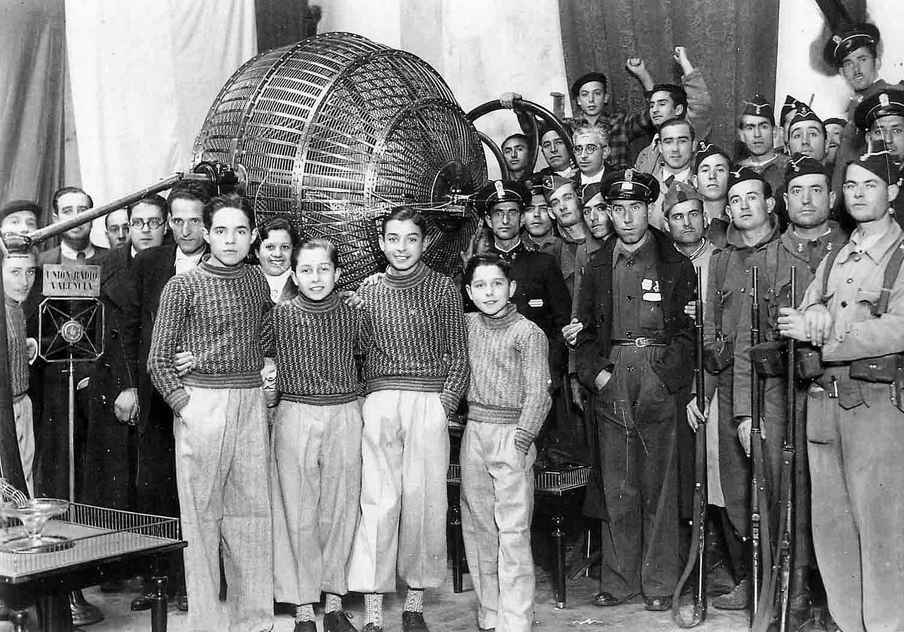 El año en que la Lotería de Navidad se celebró en Valencia