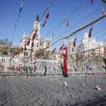 Una Senyera multicolor dibujada en el aire abrirá el XXXVIII Festival de Pirotecnia de Valencia