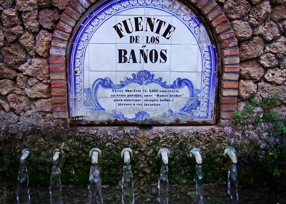 La leyenda de los baños árabes de Abú Zayd en Montanejos