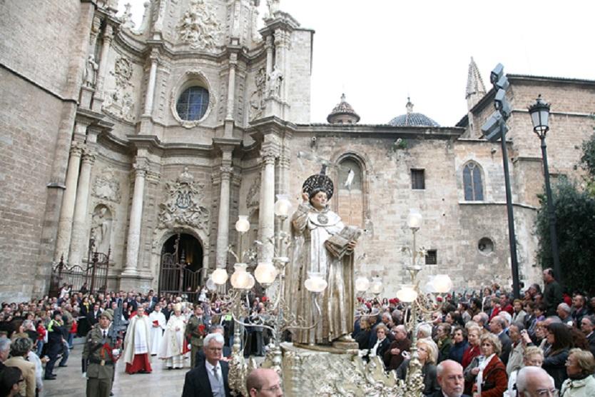 Valencia se prepara para la festividad de San Vicente Ferrer, patrón de la Comunidad Valenciana
