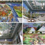 La Sala de los Mosaicos y la historia de la valenciana situada en uno de los laterales de la cantina