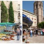 Regresa en mayo el tradicional mercado de La Escuraeta a los pies de la Catedral de Valencia