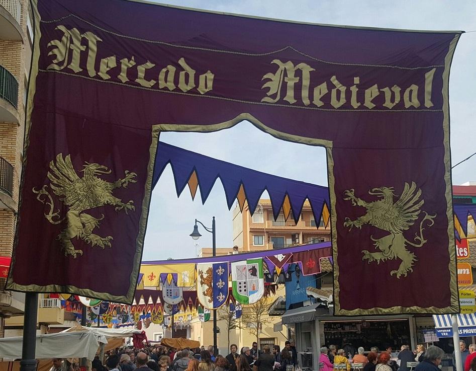 Mercados temáticos, medievales y ferias de artesanía en Valencia en junio de 2019