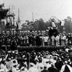 """La primera foto """"oficial"""" de la Coronación de la Mare de Déu dels Desamparats"""