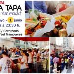 XIV Festival de la Tapa Benimaclet 2016 (31 de mayo y 1 de junio)