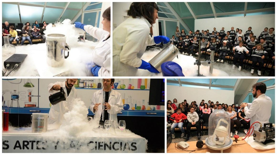 """Talleres y experimentos divertidos GRATUITOS en """"la ciencia a escena"""" en el Museu de les Ciències"""