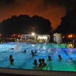 Piscinas nocturnas en Valencia: piscina del Parque del Oeste y piscina de Quart de Poblet