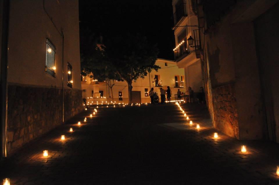 La noche de las velas de Titaguas se celebra el sábado 30 de julio