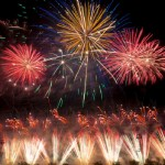 Espectáculos pirotécnicos sustituyen a los castillos en la Gran Fira de València
