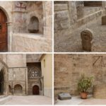 Antiguo cementerio medieval (Patio Sur) de la iglesia de San Juan del Hospital