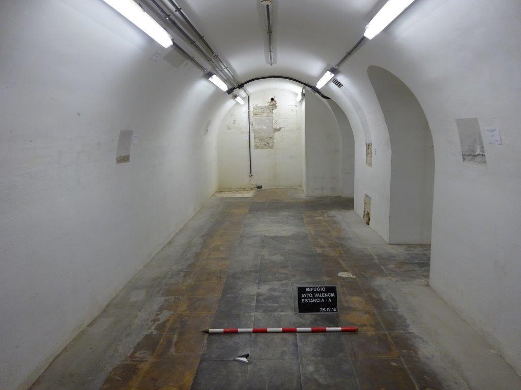 El refugio del ayuntamiento de Valencia será rehabilitado