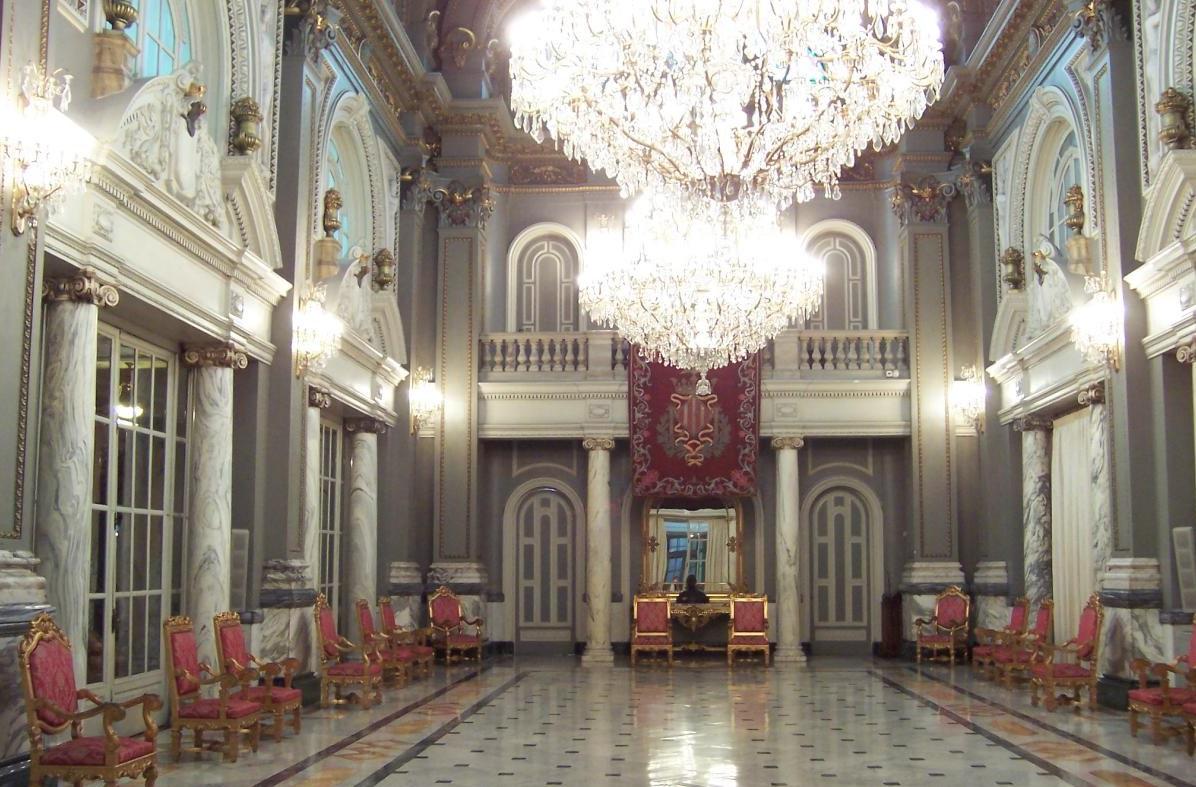 La Reial Senyera podrá verse en el Salón de Cristal el 9 de Octubre