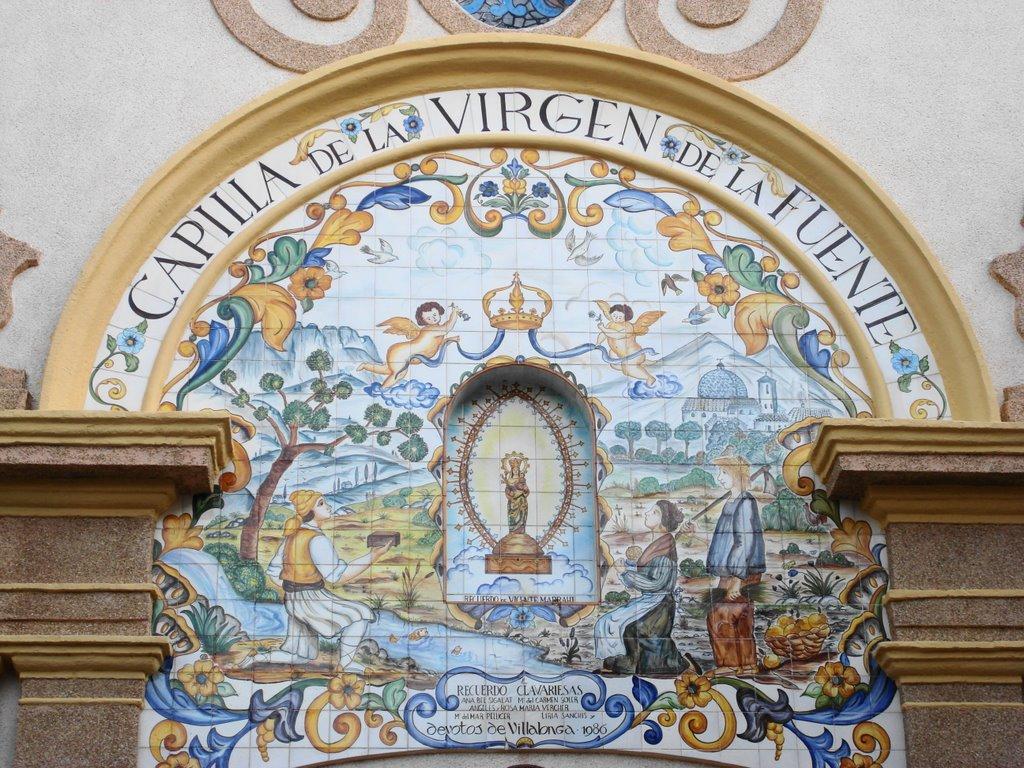 """Villalonga conmemora con una misa y una procesión el """"milagro de la fuente"""" del siglo XVIII"""
