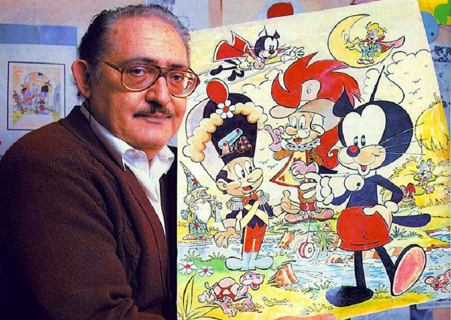 """Pumby, el """"gatito feliz"""" que fue creado por el valenciano José Sanchis Grau"""