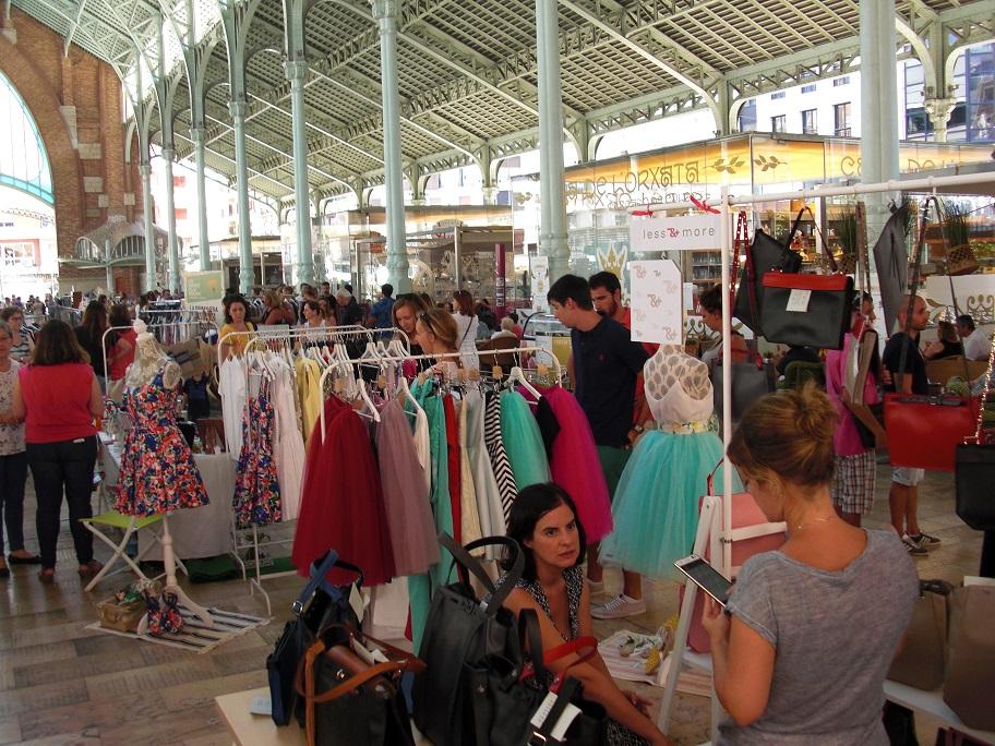 El Zoco del Mercado de Colón celebra el próximo domingo 2 de octubre su cuarta edición