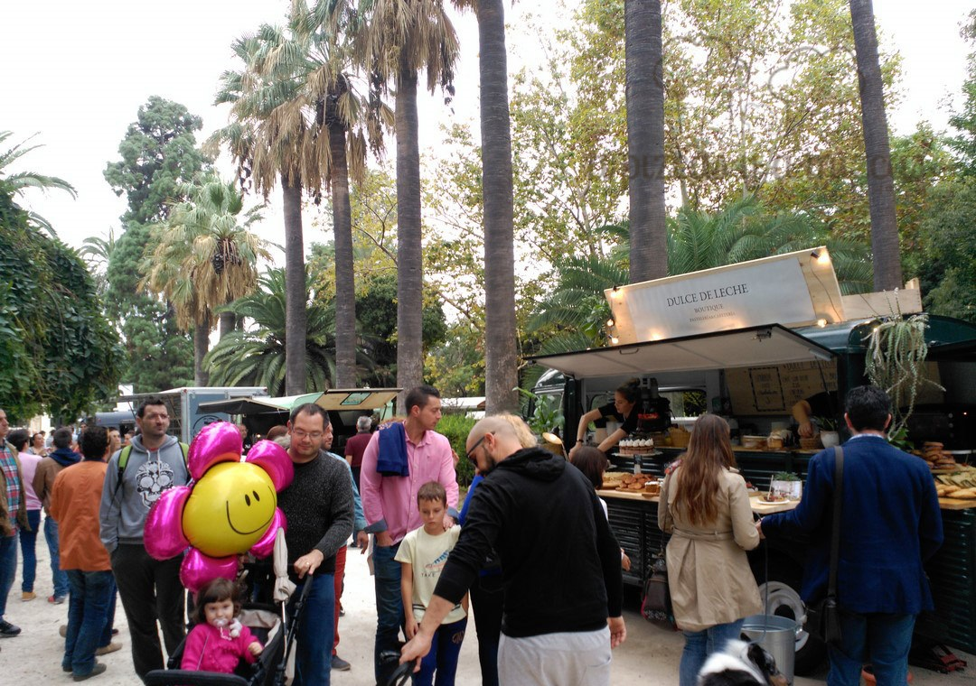 Food Trucks, ambiente retro y actividades durante este fin de semana en los Jardines de Viveros
