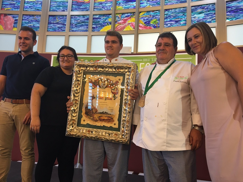 Un restaurante de Córdoba gana el Concurso Internacional de Paella Valenciana de Sueca 2016