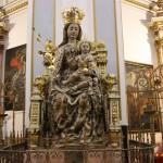 La Virgen del Buen Parto y la tradición popular valenciana de dar 9 vueltas a la Catedral de Valencia