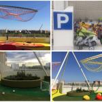 El jardín infantil de la azotea del Hospital La Fe de Valencia