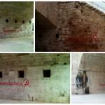 Oleada de pintadas de una web contra los puentes históricos de Valencia