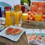 Al zumo, invita la casa. Zumo de naranja GRATIS del 21 al 25 de noviembre en 40 locales de Valencia