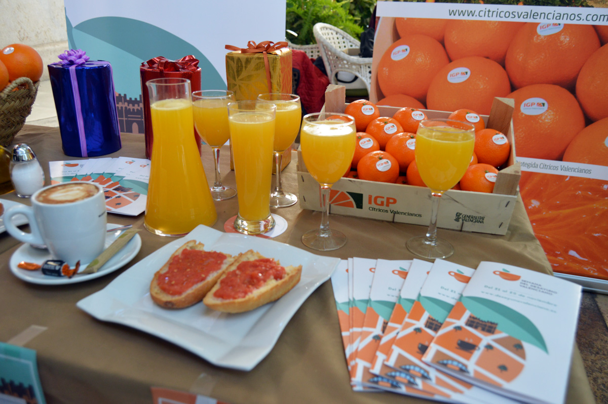 Al zumo, invita la casa. Zumo de naranja GRATIS en 40 locales de Valencia