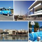 La Marina Real cuenta con un tren turístico desde el pasado fin de semana