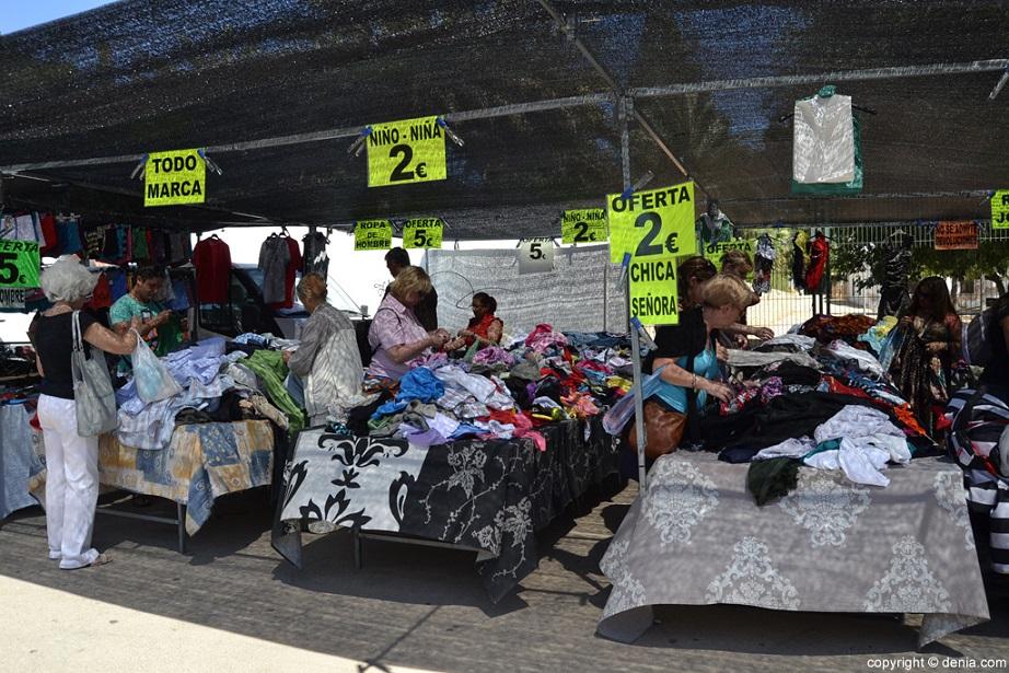Mercadillos ambulantes en Valencia capital
