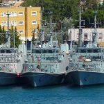 Los cazaminas Tambre y Sella se podrán visitar este martes 21 y miércoles 22 en Valencia
