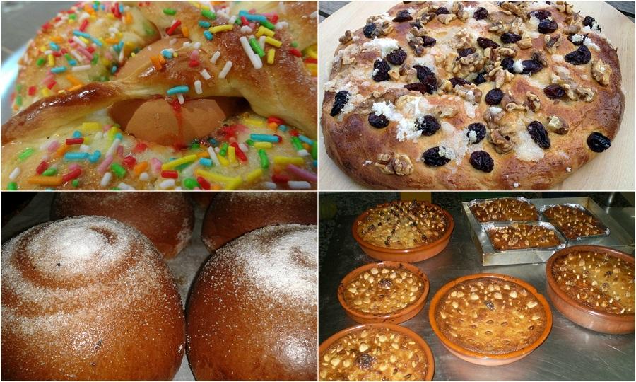 Dulces valencianos típicos en Semana Santa
