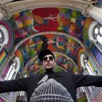La falla municipal de 2018 del artista Okuda será un tótem multicolor de 20 metros de altura