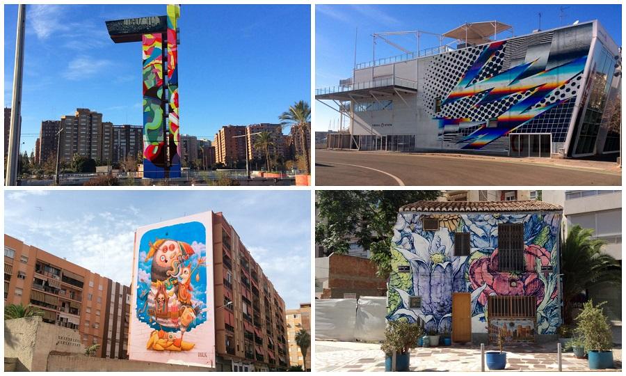 El festival Zedre convertirá un barrio de Valencia en arte urbano y fotografía mural