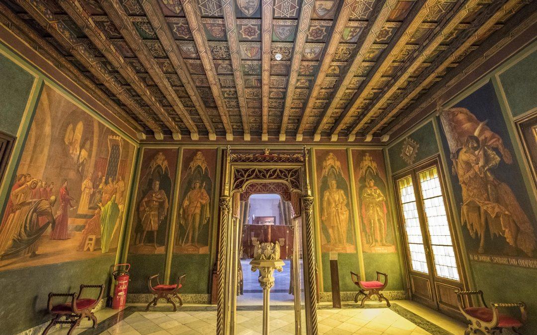 La preciosa Sala de los Fueros del Ayuntamiento de Valencia