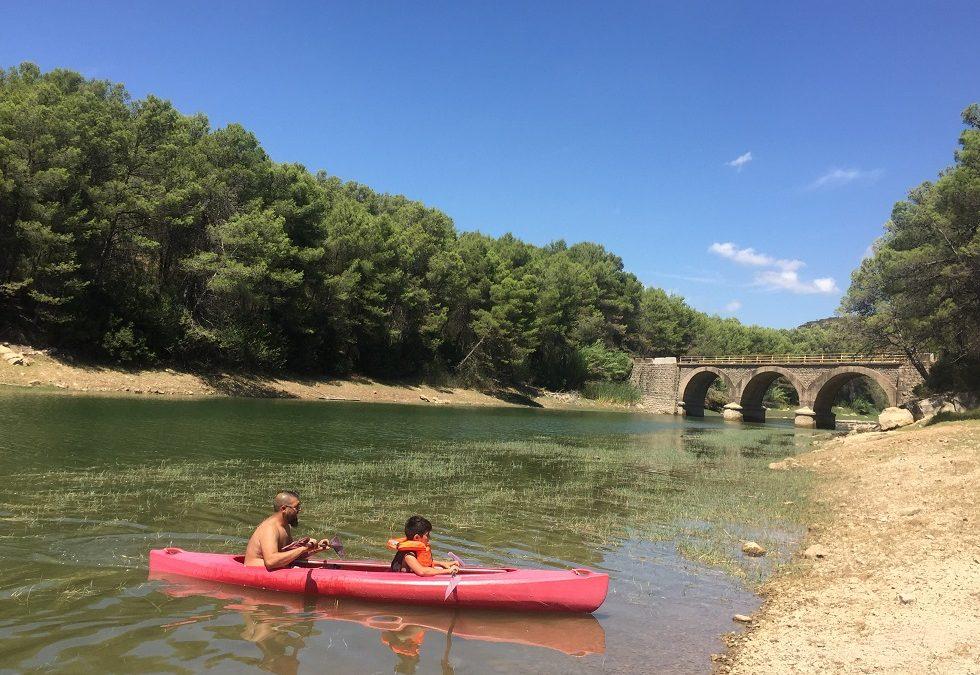 El Pantano del Regajo y la Vía Verde de Ojos Negros, la Vía Verde más larga de España