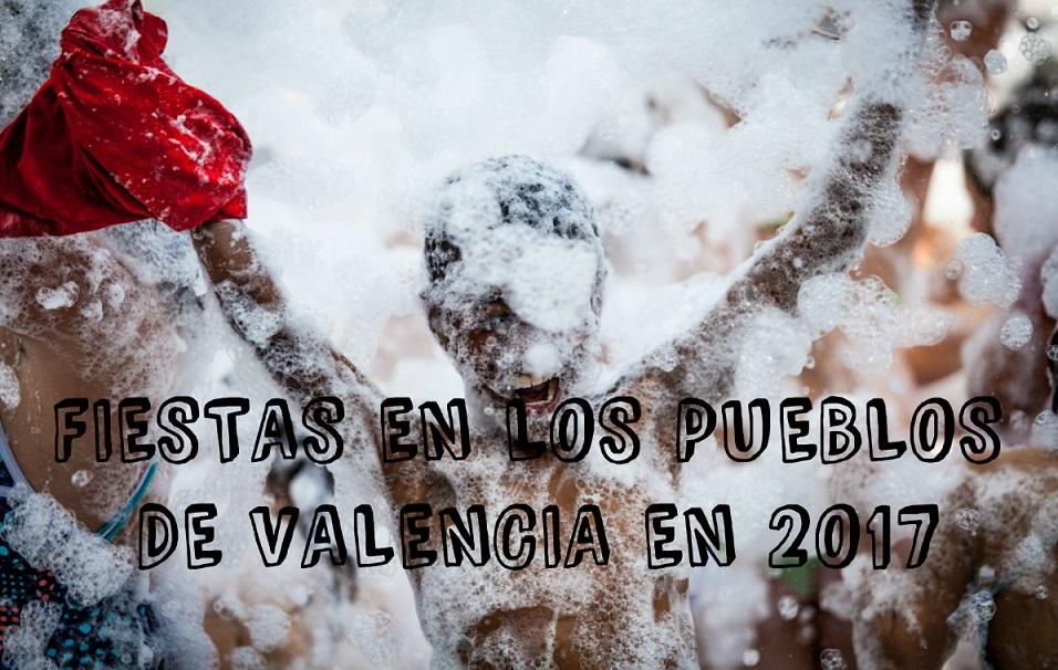 Fiestas en septiembre en los pueblos de Valencia en 2017