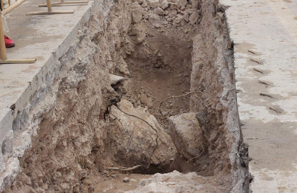 Hallados nuevos restos medievales de la muralla de Valencia