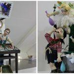 El Salón de Cristal exhibirá hasta el viernes los ninots indultados de las Fallas de 2017