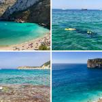 Calas Ambolo, Blanca, Granadella y Portitxol, cuatro bellas calas de Xàbia