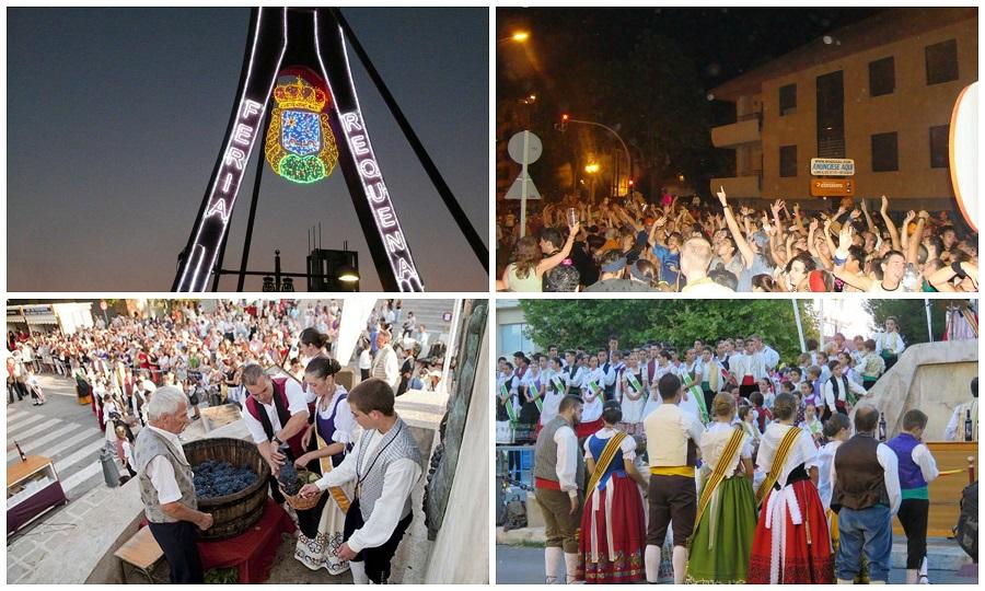 Requena celebra su gran Feria y Fiesta de la Vendimia, la fiesta de la vendimia más antigua de España