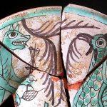 Restauran un plato de cerámica de Paterna del siglo XIV con un gran valor patrimonial