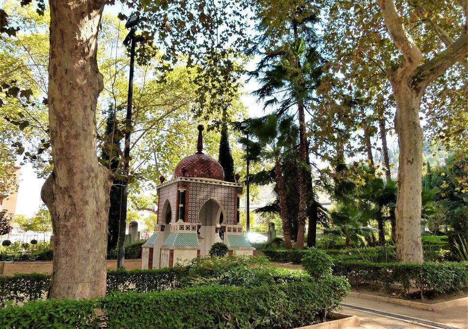 ¿Sabías que el jardín del beso está en Xàtiva?
